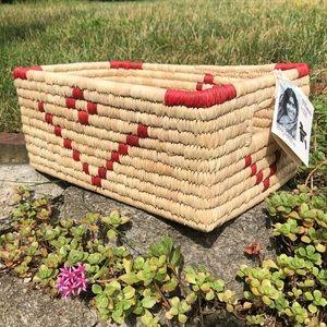 NWT Ten by Three fair trade basket